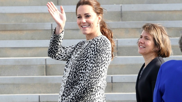 Celeb bump day: Kate Middleton, Jill