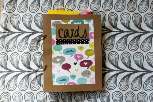 Card book
