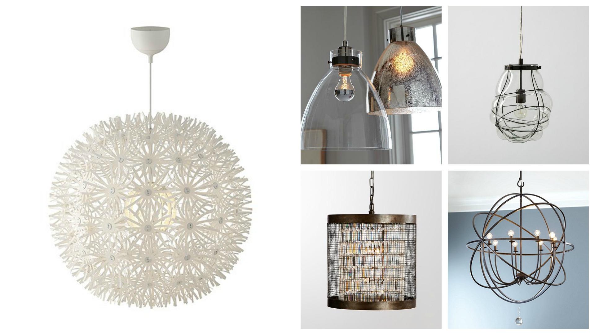 Light fixtures and chandeliers