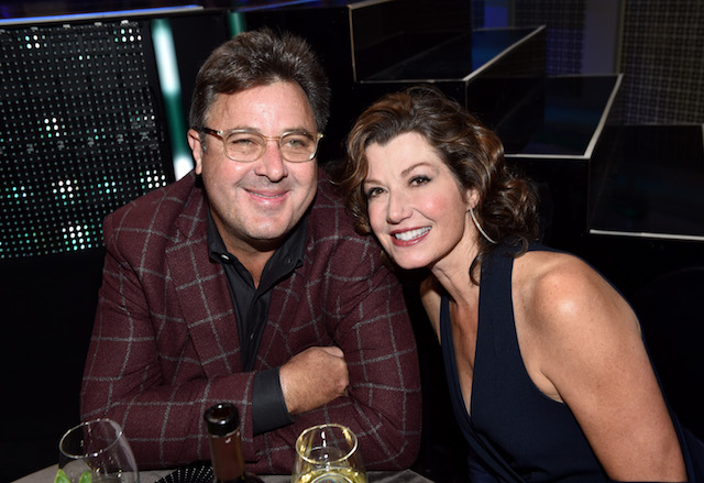 Vince Gill and Amy Grant attend the 2017 CMT Artists of the Year