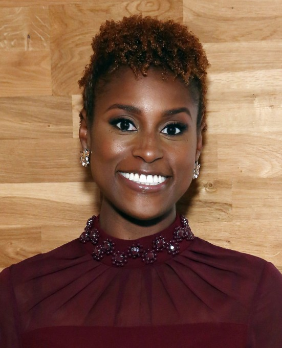 Celebrities Who Embraced Their Natural Hair Texure: Issa Rae