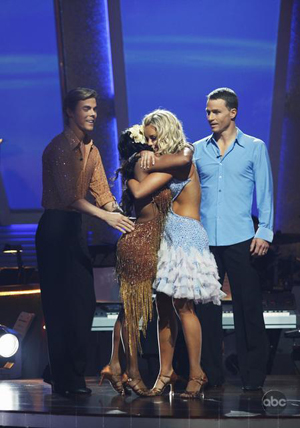 A great dancer, Lil' Kim, is sent home on DWTS