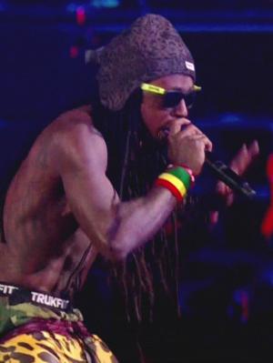 Lil' Wayne at the 2012 MTV Video Music Awards