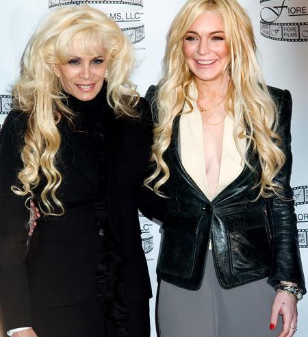 Lindsay Lohan Victoria Gotti