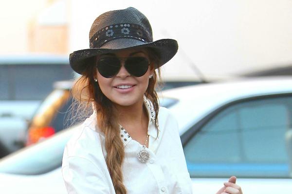 Lindsay Lohan in Los Angeles