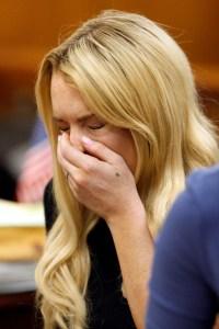 Lindsay Lohan is going to jail