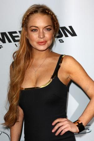 Lindsay Lohan leaves Betty Ford rehab
