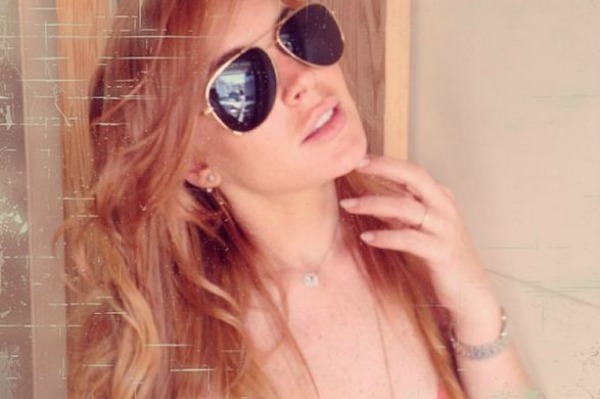 Lindsay Lohan launches new website