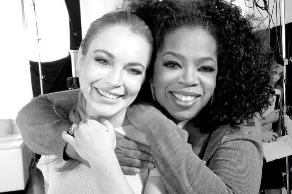 Lindsay Lohan Oprah Winfrey interview 2013