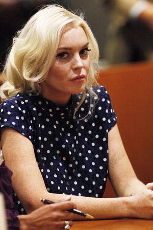 Lindsay Lohan putting off jail for Playboy