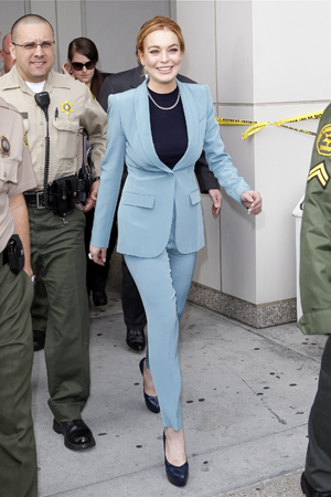 Lindsay Lohan ends DUI probation