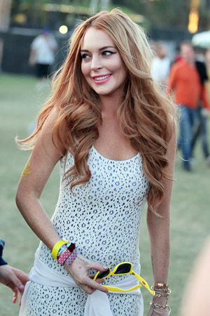 Lindsay Lohan is going to the White House