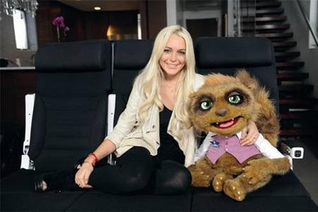Lindsay Lohan and Rico
