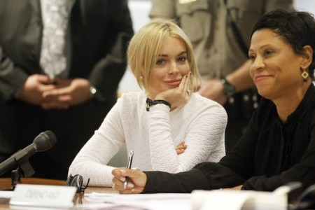 Lindsay Lohan Small Claims Court