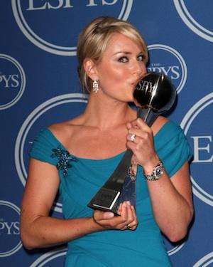 Lindsey Vonn at the Espy Awards