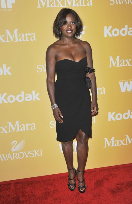 Viola Davis red carpet style: 2012 Crystal + Lucy Awards
