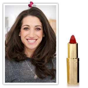 Elizabeth Grant Heavenly Lips in Red