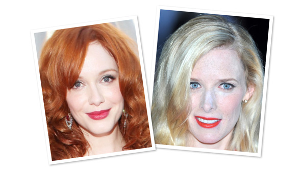 Red lipstick for Porcelain skin
