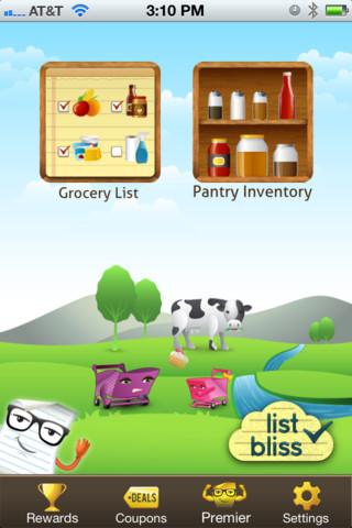 List Bliss app