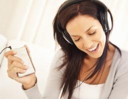 Listening MP3 player