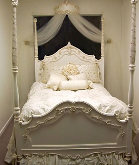 Little Princess 4 Poster Bed