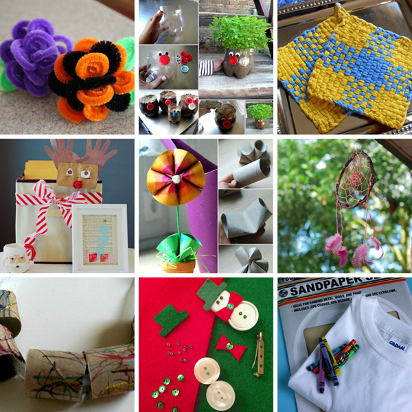 Handmade holiday gifts from kids