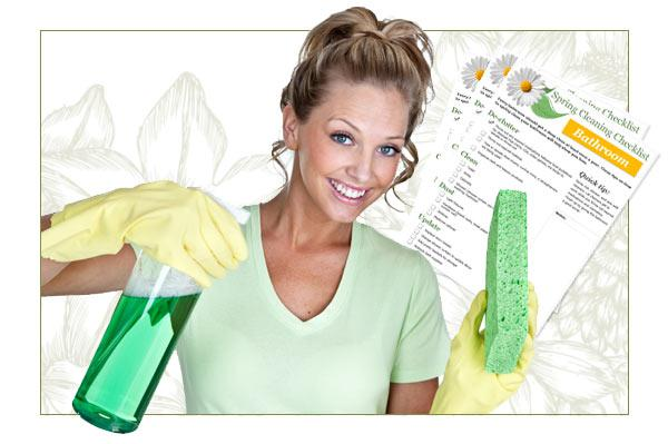 Spring Cleaning Checklists