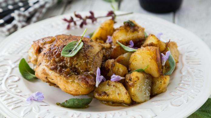 Not your ordinary chicken and potatoes