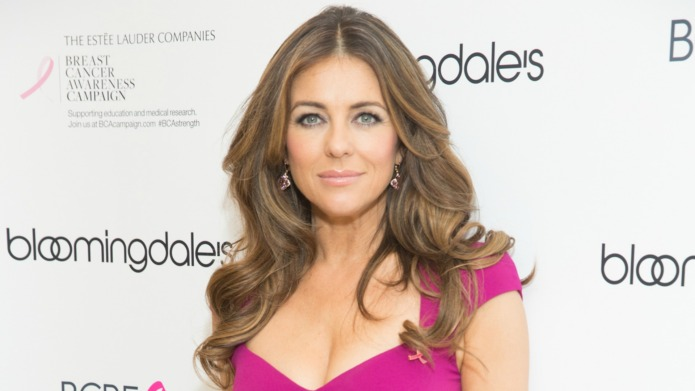 Liz Hurley causes chaos when she