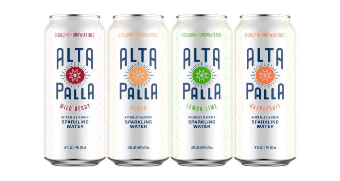 Alta Palla Organic Sparkling Water