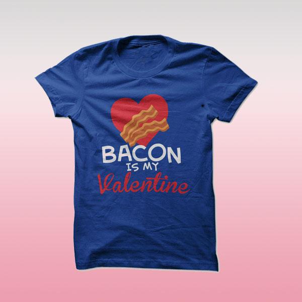 'Bacon' Valentine's Day shirt