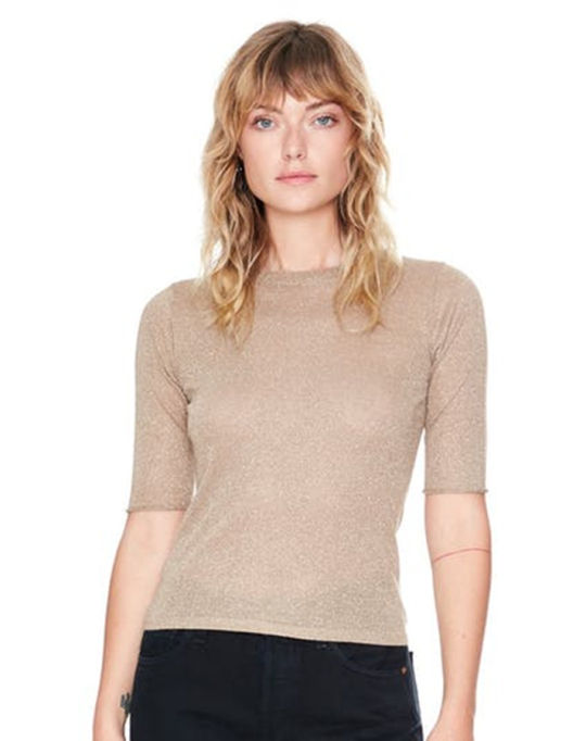 Fall fashion trends: Veda Moore Top in Gold | Fall Fashion 2017