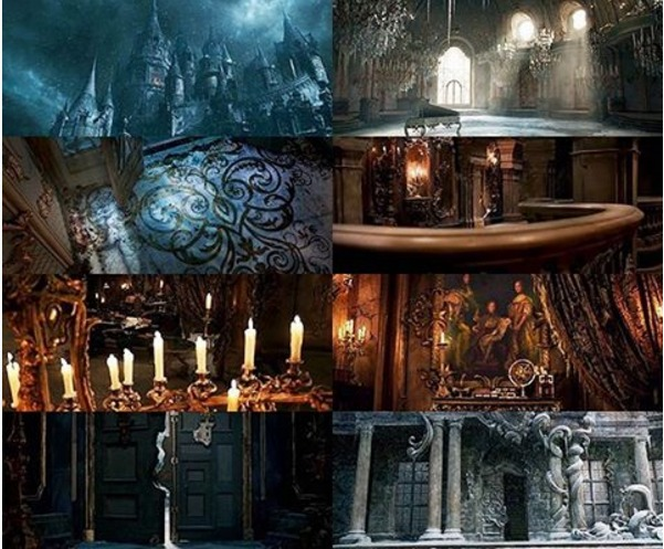 Stills from Beauty and the Beast