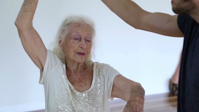 100-Year-old woman shows age is no
