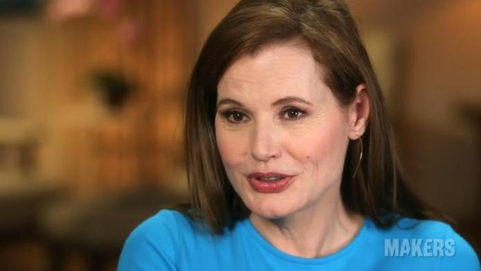 Geena Davis admits to overdoing it