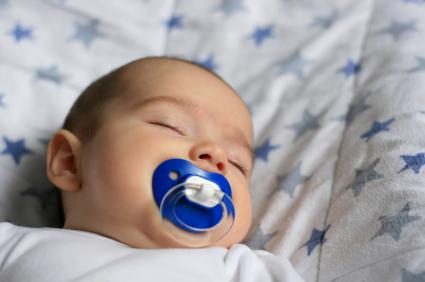 Cut allergy risk with pacifier?