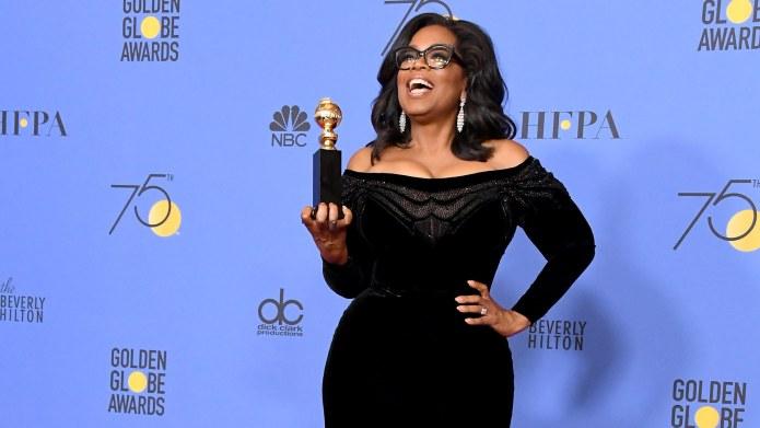 Oprah's Golden Globes Speech Gives Hope