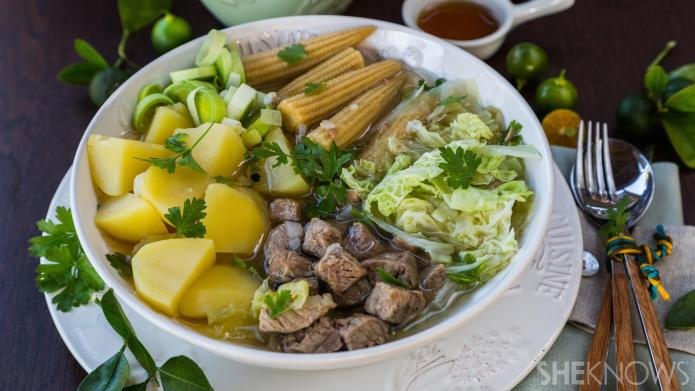 One-Pot Wonder: Asian beef and vegetable