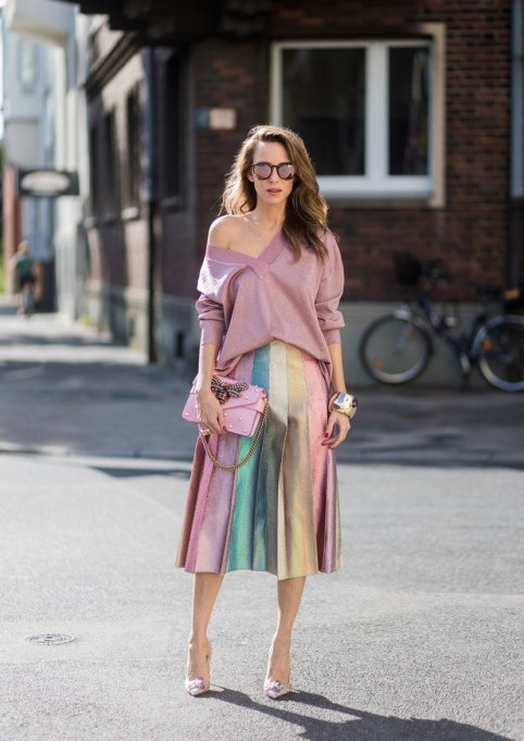 Ways To Wear Pastels This Fall | Rainbow Bright