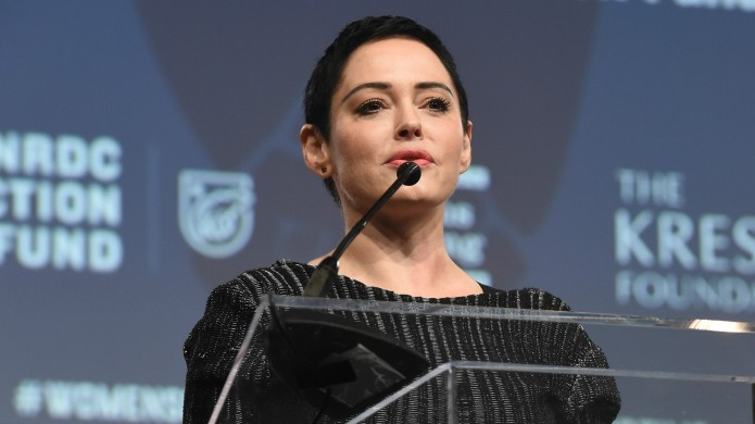 Here's How Rose McGowan Is Taking