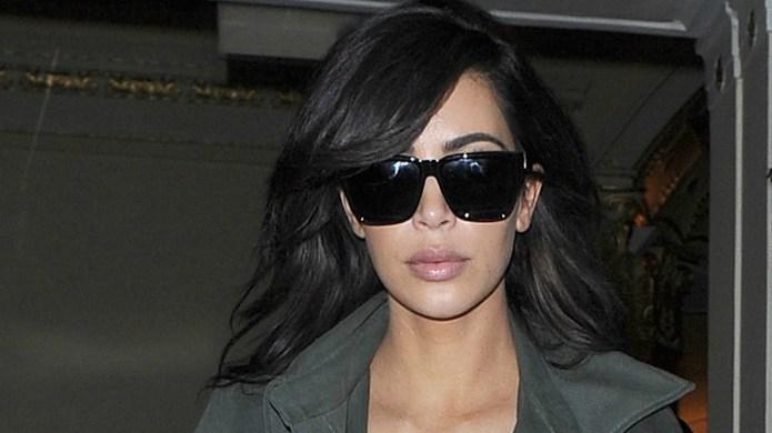 Kim Kardashian and her husband Kanye
