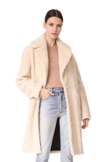 Perfect to Wear Shearling This Season | The Nude Jacket