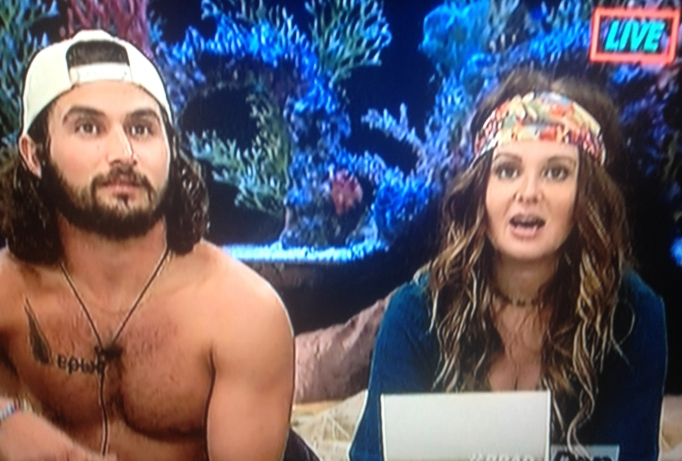 Michelle and Victor Big Brother 18
