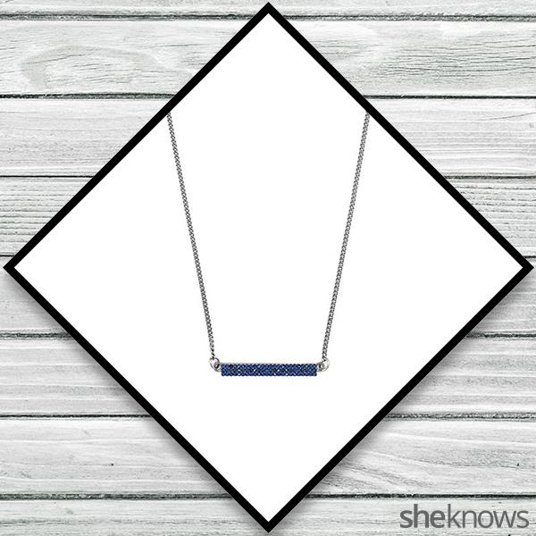 BCBGENERATION sapphire necklace