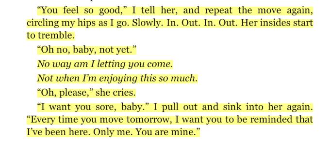 Excerpt from EL James' Grey