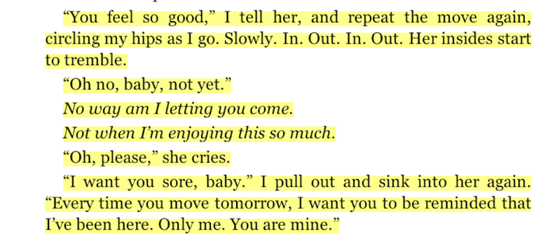50 shades of grey sexiest paragraphs