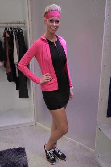 Get sporty style: Project Runway's Michael