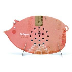 cardboard piggy bank