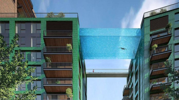 Incredible 'sky pool' will be suspended