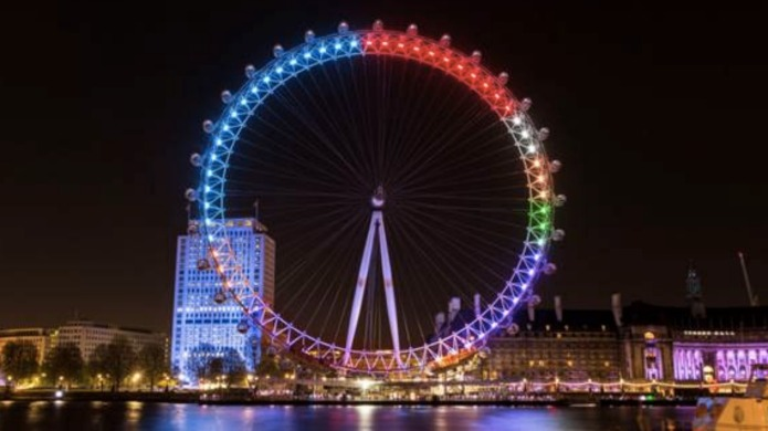 Facebook transforms London Eye into General